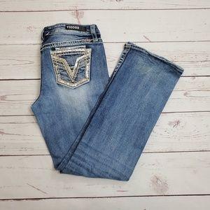 Women's Vigoss Jeans Heritage Fit Size 8/32 Boot